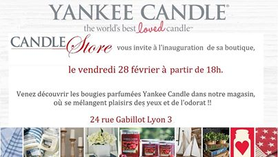 Inauguration Yankee Candle