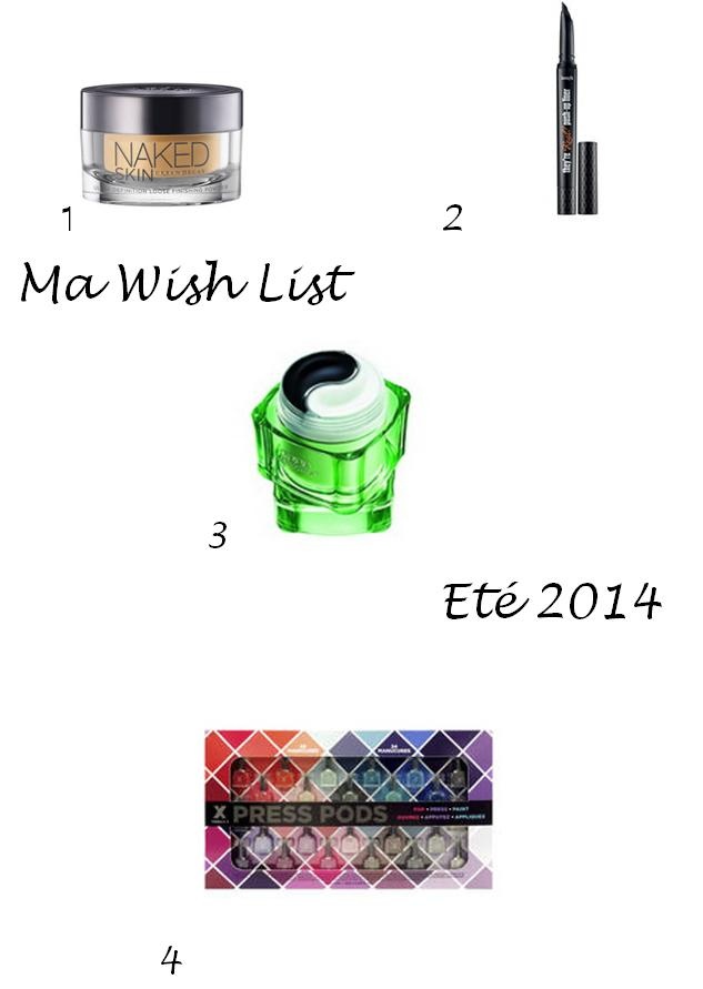 Wish List été 2014