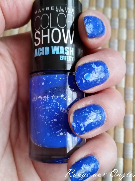 Acid Wash - Rouge aux Ongles