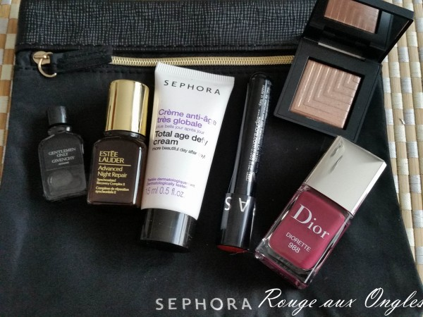 Haul Sephora - Rouge aux Ongles