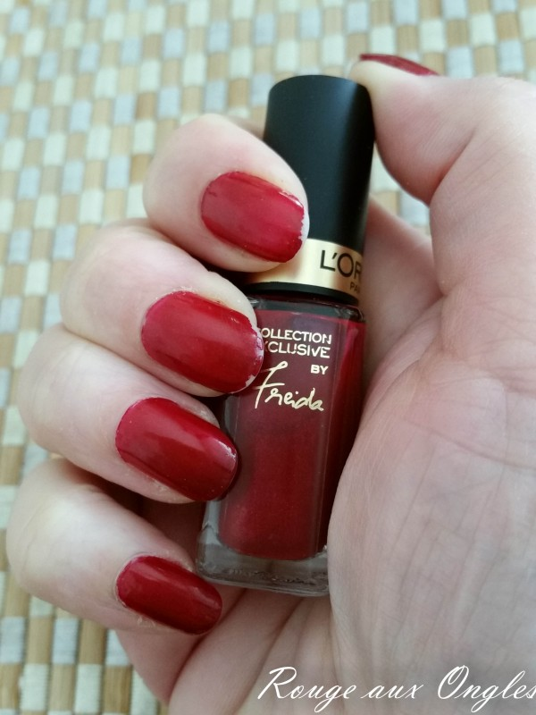 Freida de l'Oréal - Rouge aux Ongles