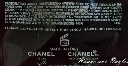 Volume de Chanel - Rouge aux Ongles