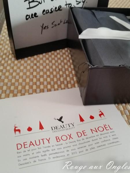 Deauty Box - Rouge aux Ongles