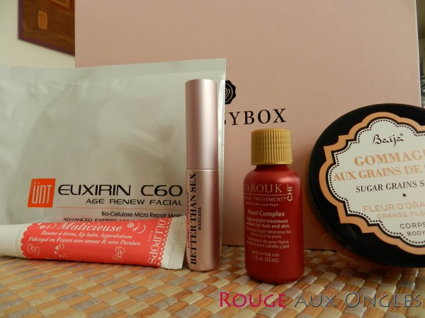 GlossyBox - rouge aux Ongles