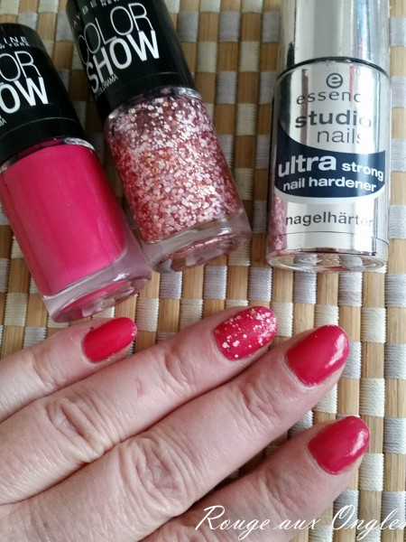 Ultra Strong Nail Hardener - Rouge aux Ongles