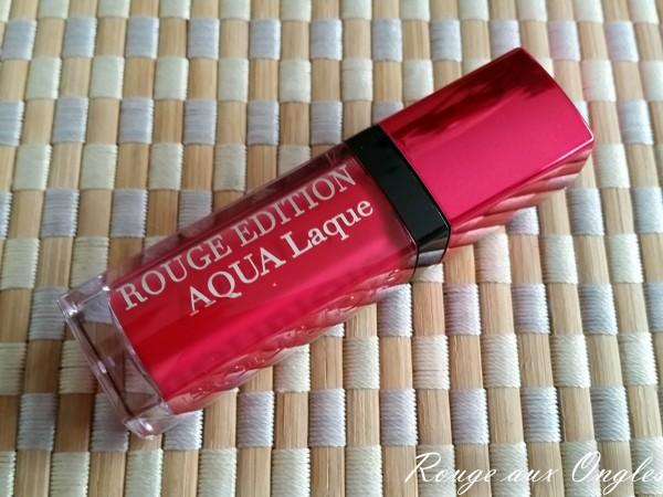 Aqua Laque Bourjois - Rouge aux Ongles