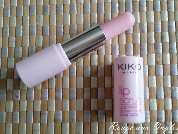 Lip Scrub Kiko - Rouge aux Ongles