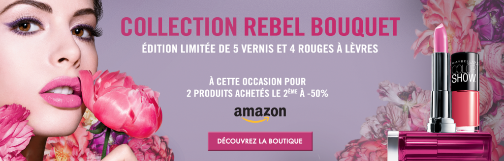 Rebel Bouquet - Maybelline - Rouge aux Ongles