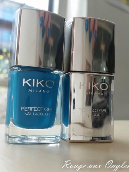 PerfectGelDuo Kiko  - Rouge aux Ongles