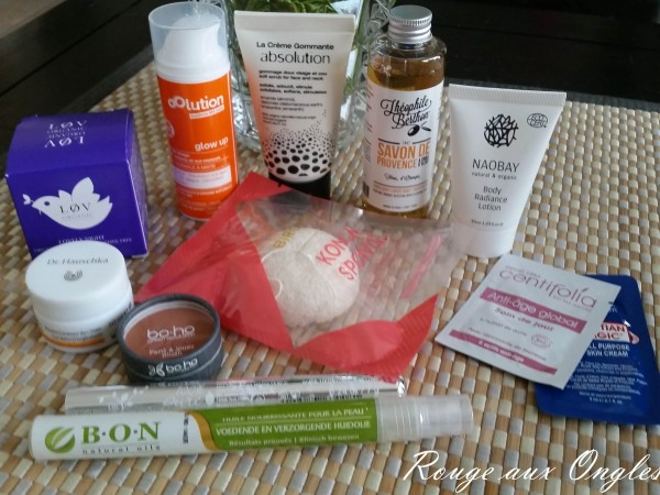 BirchBox Green Chic - Rouge aux Ongles