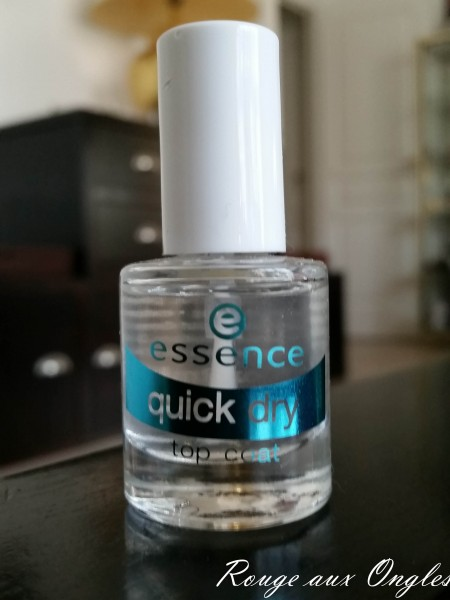 Quick-Dry Essence - Rouge aux Ongles
