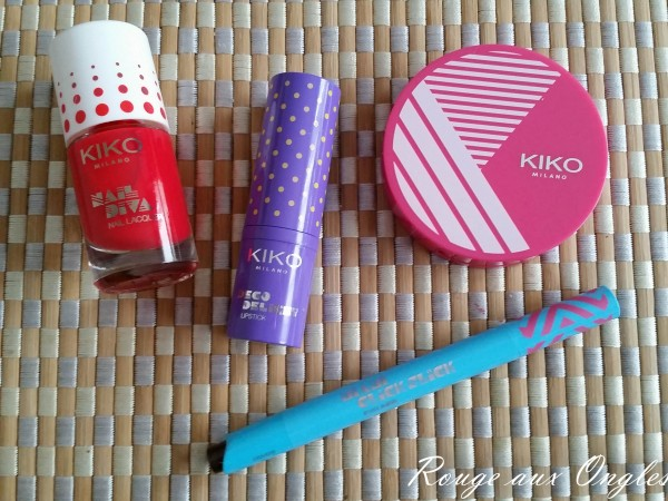 Miami Beach Babe de Kiko - Rouge aux Ongles