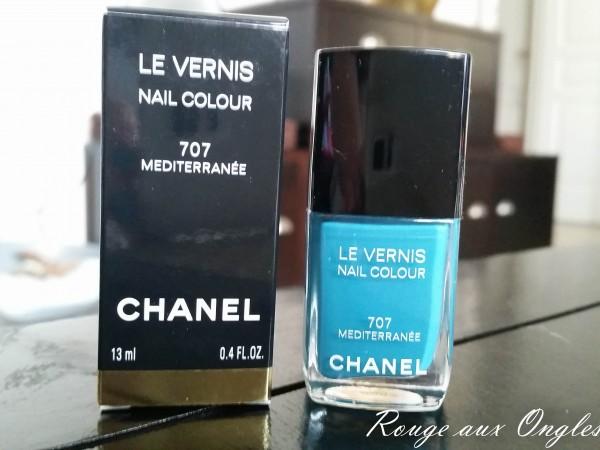 Le Méditerranée de Chanel - Rouge aux Ongles