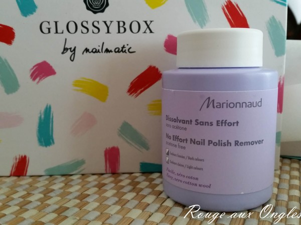 La GlossyBox by Nailmatic - Rouge aux Ongles