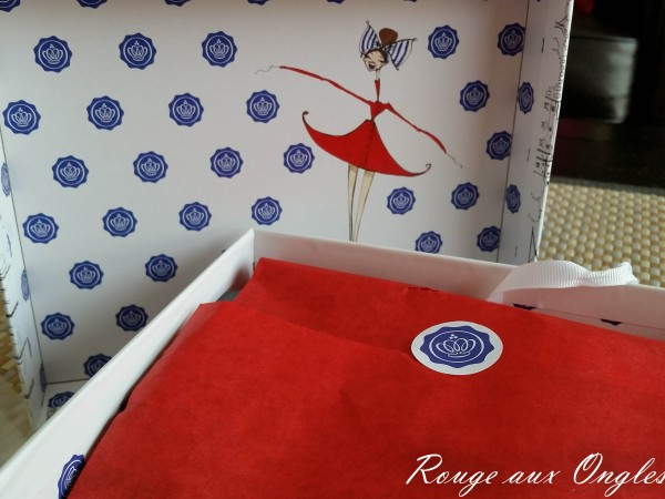 GlossyBox Juillet 2015 - Rouge aux Ongles