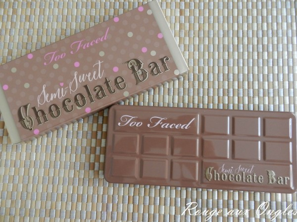 Semi-Sweet Chocolate Bar de Too Faced - Rouge aux Ongles