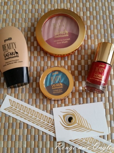 Beauty goes Safari de P2  -Rouge aux Ongles