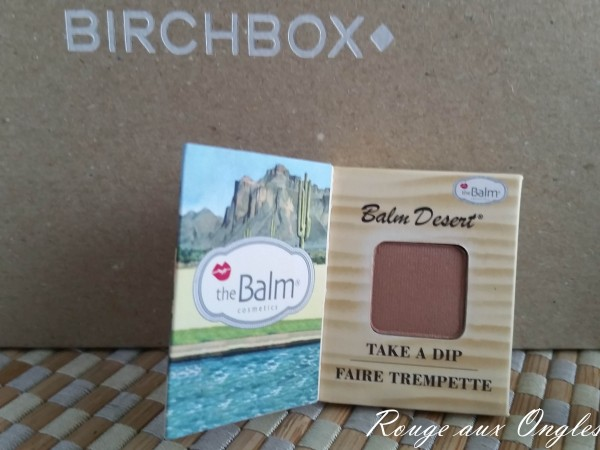 BirchBox Août - Rouge aux Ongles