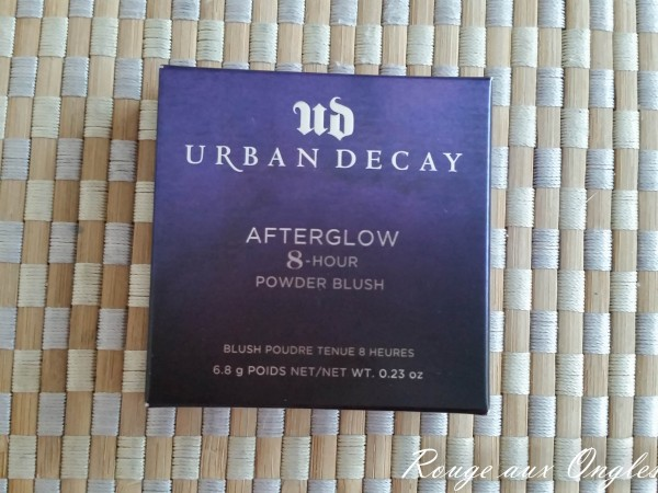 Blush AfterGlow d'Urban Decay - Rouge aux Ongles