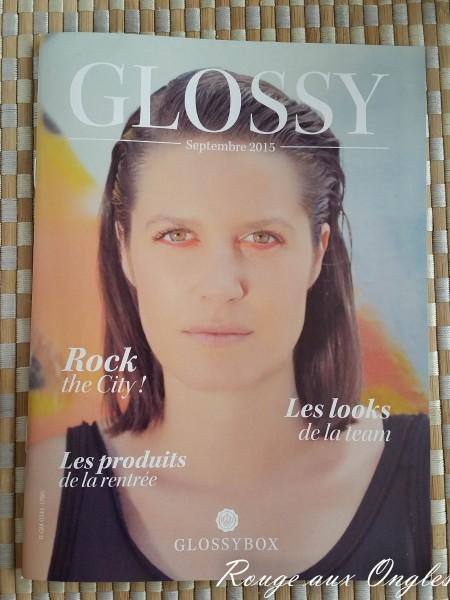 La GlossyBox de Septembre 2015 - Rouge aux Ongles