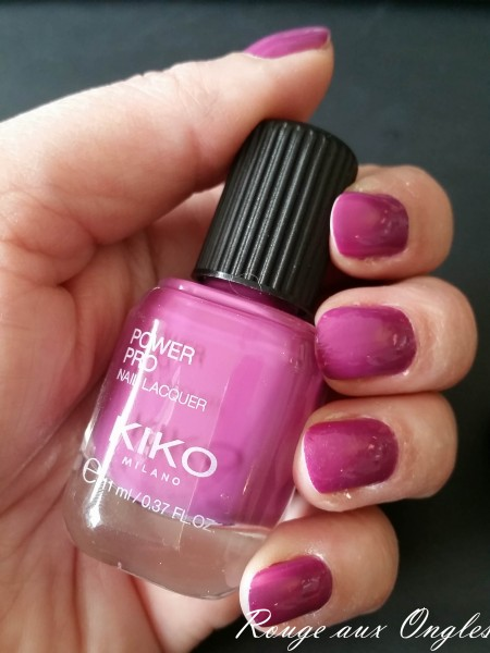 Power Pro Nail Lacquer de Kiko - Rouge aux Ongles
