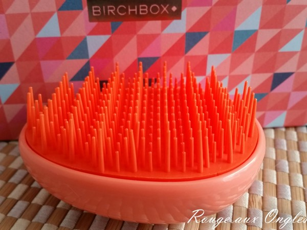 La BirchBox d'Octobre 2015 - Rouge aux Ongles