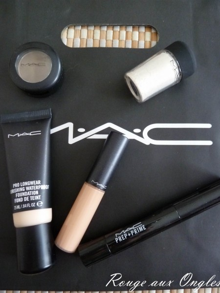 Maquillage chez MAC - Rouge aux Ongles
