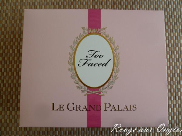 Le Grand Palais de Too Faced - Rouge aux Ongles