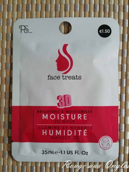 Les masques Primark - Rouge aux Ongles
