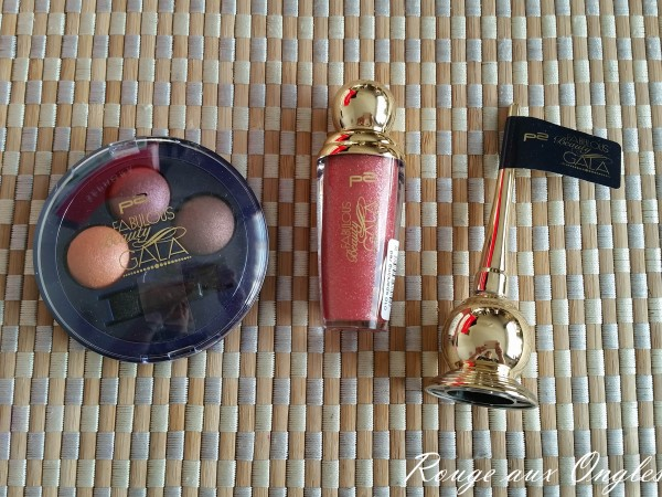 La Collection Fabulous Beauty Gala de P2 - Rouge aux Ongles