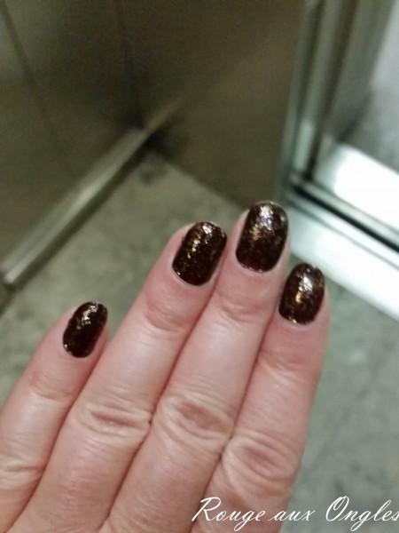 Ma Manucure Luxueuse pour le Nouvel An - Rouge aux Ongles