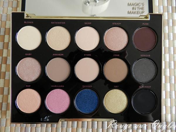 La Palette Gwen Stefani d'Urban Decay - Rouge aux Ongles