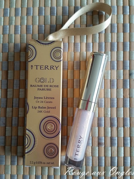 Le Baume de Rose de By Terry - Rouge aux Ongles