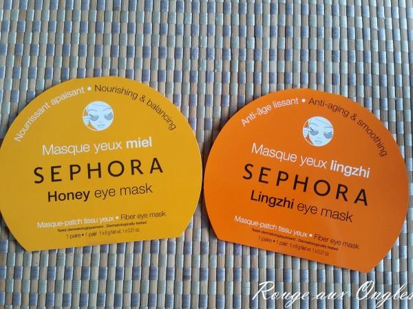 Masques pour les Yeux - Sephora - Rouge aux Ongles