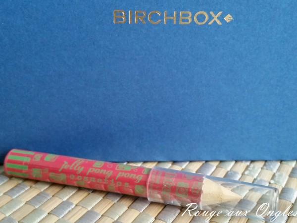 La BirchBox de Janvier 2016 - Rouge aux Ongles