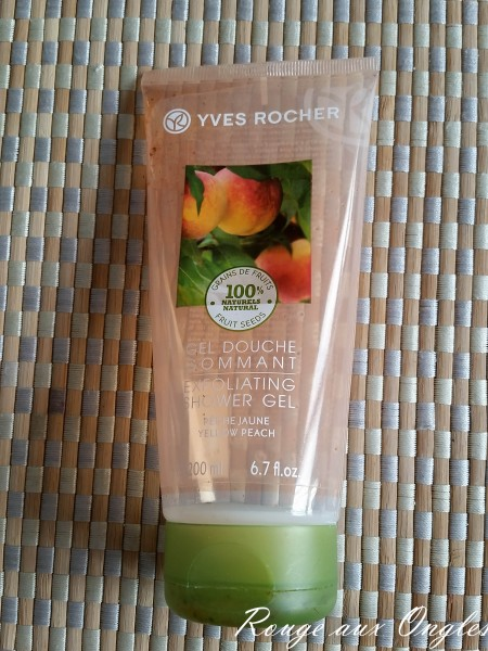 Gel douche Gommant Yves Rocher - Rouge aux Ongles