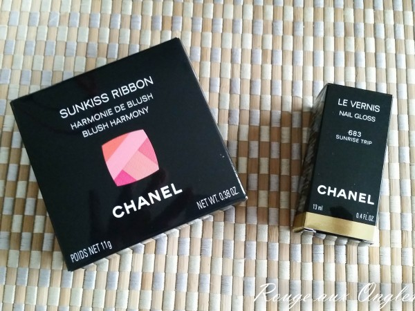 La collection L.A. Sunrise de Chanel - Rouge aux Ongles