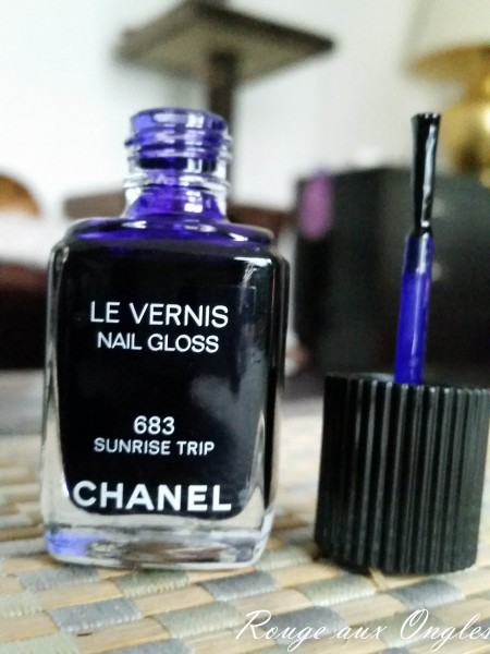 Le vernis 683-Sunrise Trip de Chanel - Rouge aux Ongles