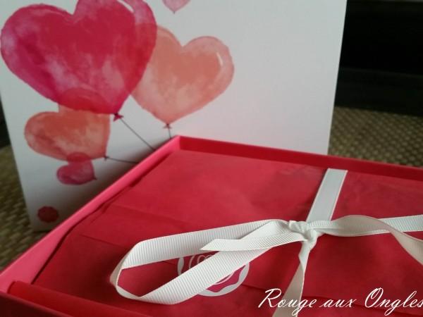 La GlossyBox de Février 2016 - Rouge aux Ongles