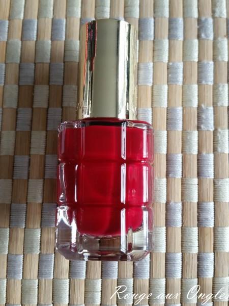 Le Vernis à Ongles Rubis Folies de L'Oréal - Rouge aux Ongles
