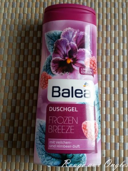 Le Gel douche Balea - Produits Terminés - Rouge aux Ongles
