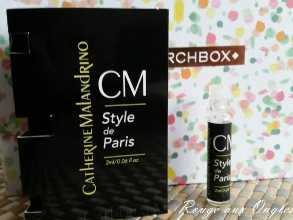 L'Eau de Parfum Style de Paris de Catherine Malandrino - Rouge aux Ongles