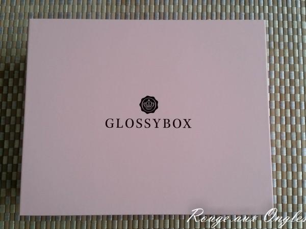 La GlossyBox de Mars 2016 - Rouge aux Ongles