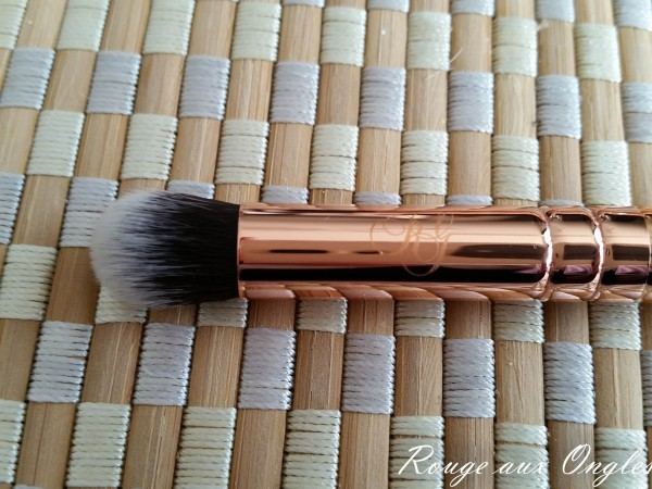 Le Kit de pinceaux Rose Golden Luxury de Zoeva - Rouge aux Ongles
