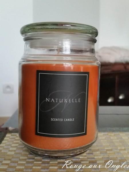 Bougie Naturelle - Haul chez NOZ - Rouge aux Ongles