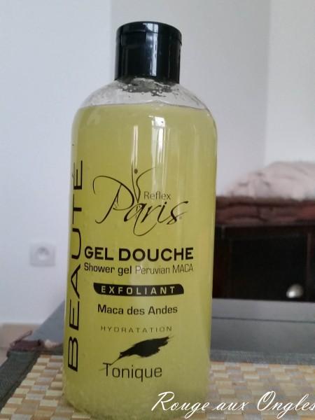Gel Douche Exfoliant Reflex Paris - Haul chez NOZ - Rouge aux Ongles