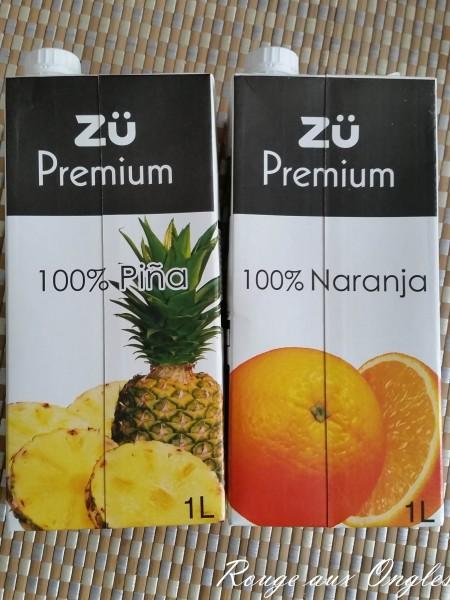 Jus de fruits - Haul chez NOZ - Rouge aux Ongles