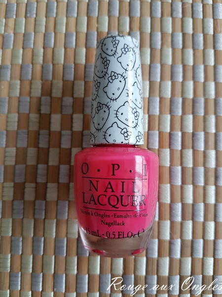 Le Vernis à Ongles Spoken from the heart d'OPI - Rouge aux Ongles