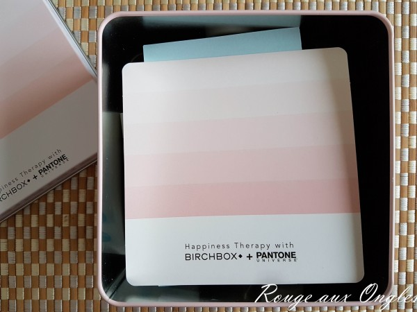 La BirchBox d'Avril 2016 - Rouge aux Ongles