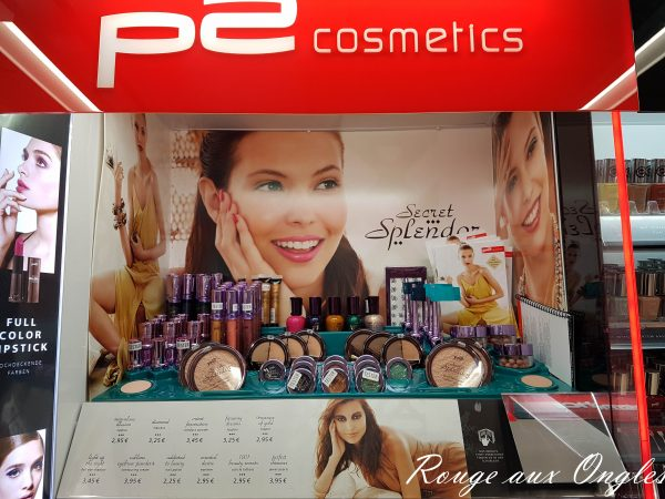La Collection Secret Splendor de P2 - Rouge aux Ongles